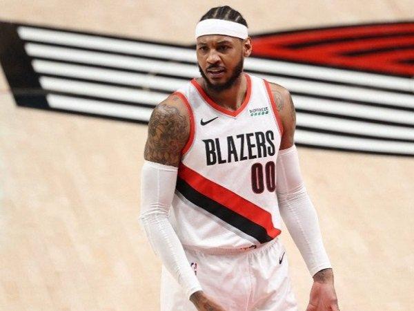 Forward Portland Trail Blazers, Carmelo Anthony. (Images: Getty)