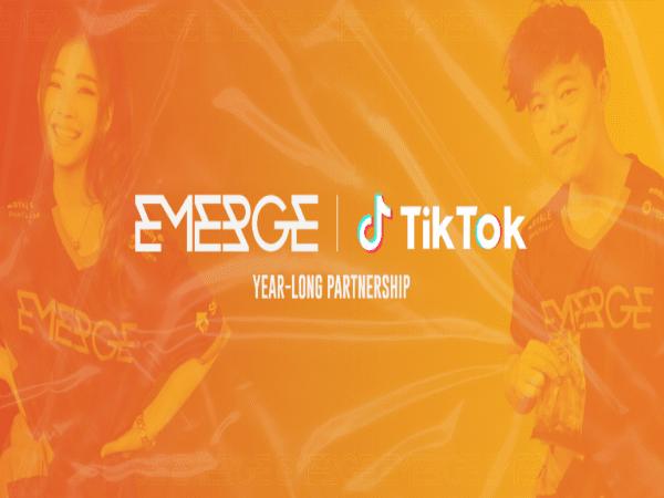EMERGE Esports Resmi Jalin Kerjasama dengan TikTok