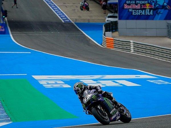 Maverick Vinales berhasil torehkan waktu terbaik di tes pasca balap Jerez.