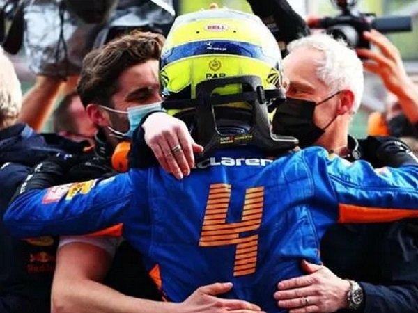 Pebalap McLaren, Lando Norris. (Images: Getty)