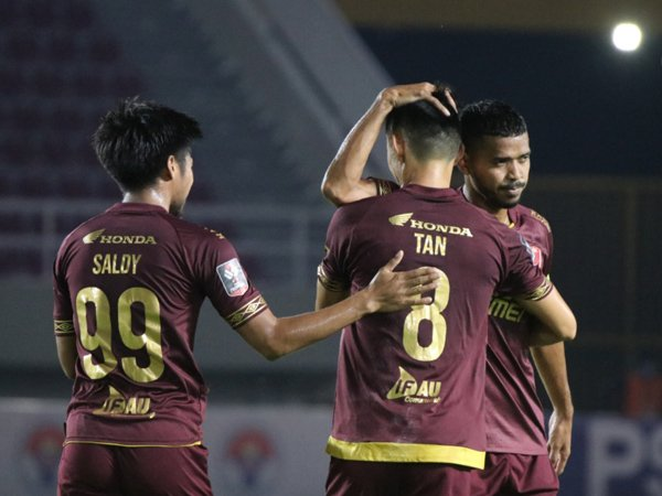 PSM Makassar saat tampil di Piala Menpora 2021