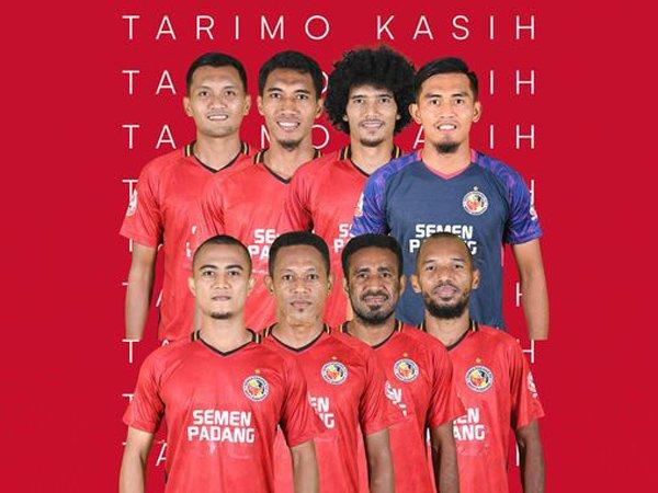 Delapan pemain yang dilepas Semen Padang FC