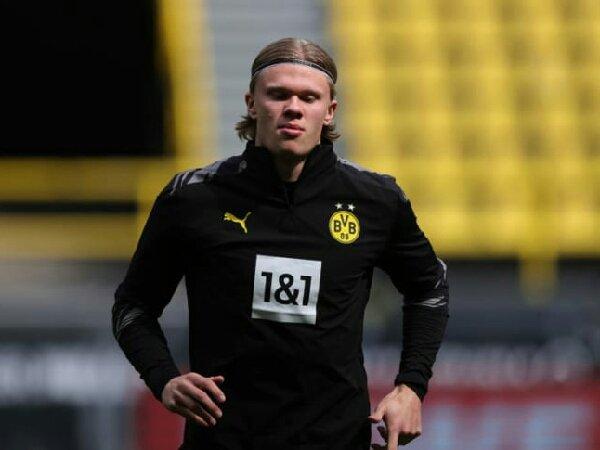 Erling Haaland siap bela Borussia Dortmund saat laga kontra RB Leipzig