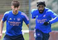 Lacazette dan Tierney Kembali Latihan Jelang Duel Arsenal kontra Villarreal