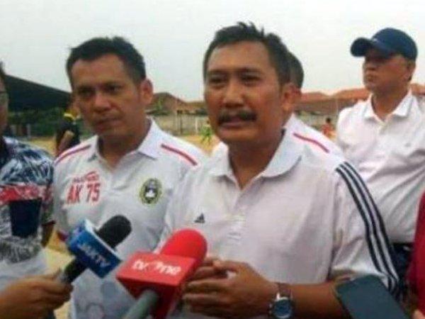 Manajer timnas Indonesia untuk SEA Games 2021 yang baru ditunjuk PSSI, Uden Kusuma