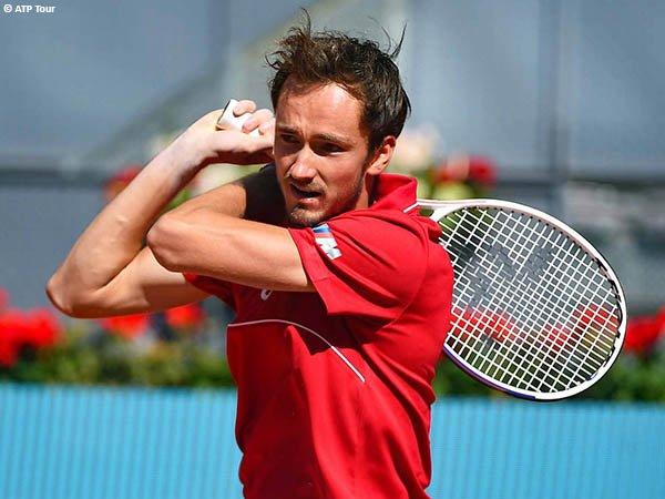 Daniil Medvedev tembus babak ketiga Madrid Open 2021