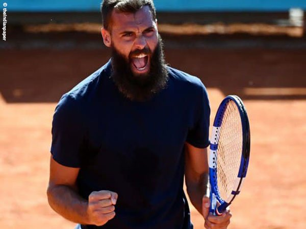 Benoit Paire melaju ke babak kedua Madrid Open 2021