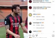 Calhanoglu Tanggapi Kritik dengan Pesan Menarik di Media Sosial