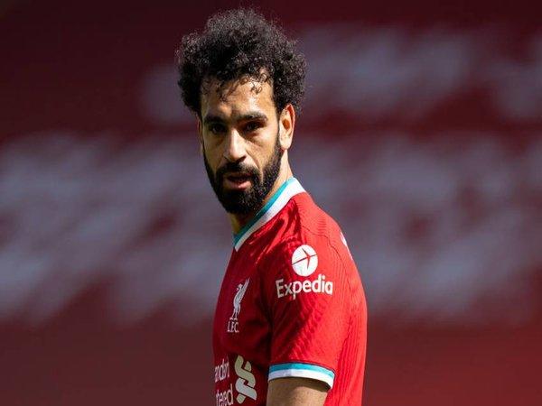 PSG menyiapkan nama Mohamed Salah sebagai antisipasi apabila mereka ditinggal oleh Kylian Mbappe musim panas ini / via Getty Images