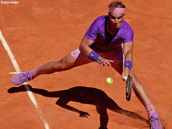 Rafael Nadal meluncur ke perempatfinal Madrid Open 2021
