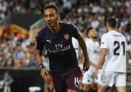 Trigol kontra Valencia, Salah Satu Laga Terbesar Aubameyang di Arsenal