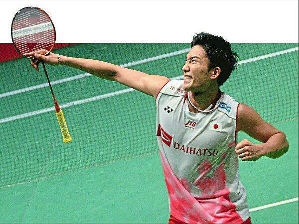 Undian Tak Mudah Kento Momota di Malaysia Open 2021