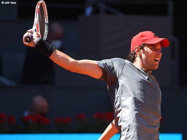 Dominic Thiem melangkah ke perempatfinal Madrid Open 2021