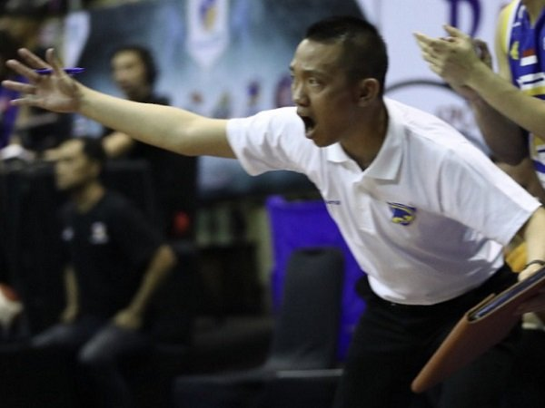Pelatih Prawira Bandung, Andre Yuwadi. (Images: IBL)