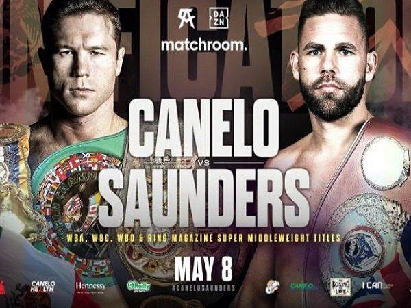 Canelo Alvarez bakal bertarung dengan Billy Joe Saunders.