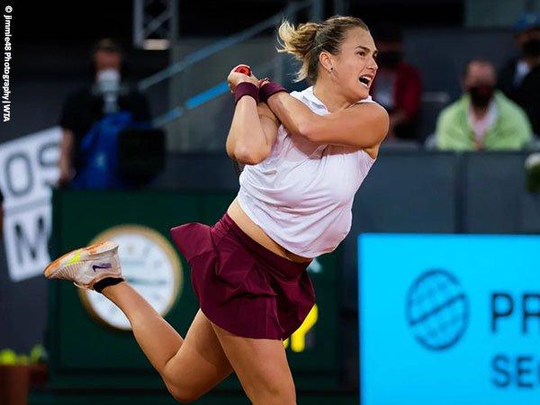 Aryna Sabalenka tembus final di Madrid Open 2021