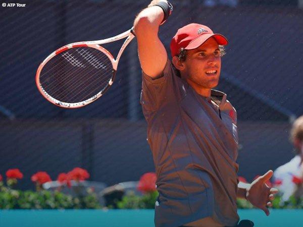 Dominic Thiem susah payah demi melaju ke semifinal Madrid Open 2021