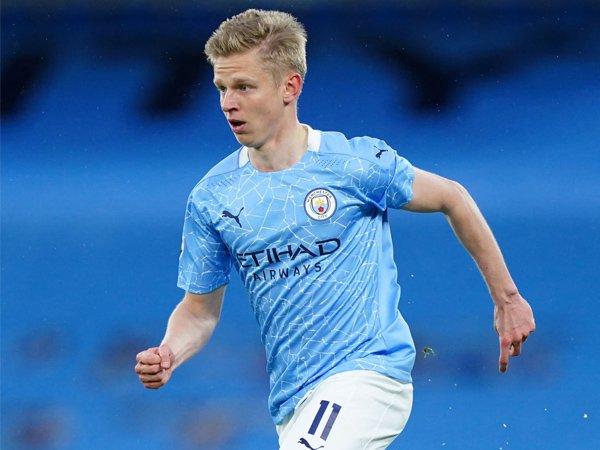 Bek sayap Manchester City, Oleksandr Zinchenko.