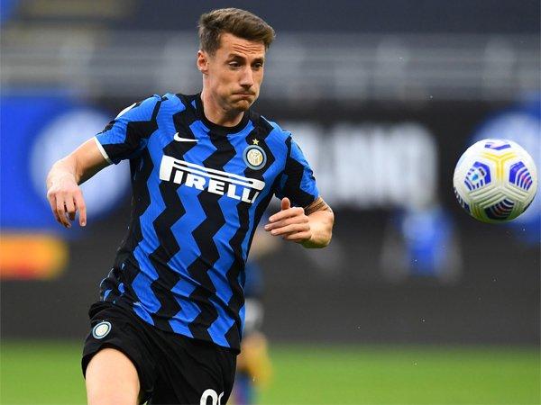 Striker muda Inter Milan, Andrea Pinamonti.