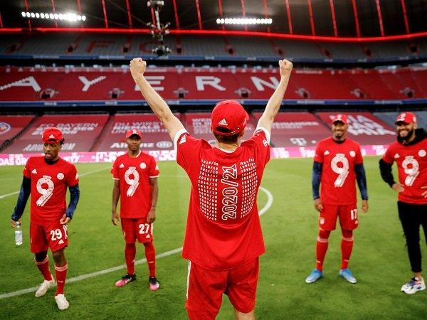 Bayern Munich raih gelar juara Bundesliga untuk sembilan kalinya secara beruntun.