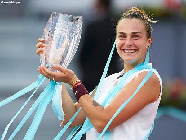 Aryna Sabalenka bawa pulang gelar Madrid Open 2021