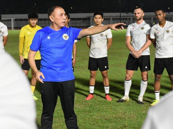 Ketum PSSI, Mochamad Iriawan memberikan pengarahan terhadap skuat timnas Indonesia