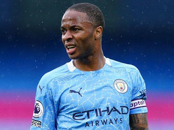 Winger Manchester City, Raheem Sterling.