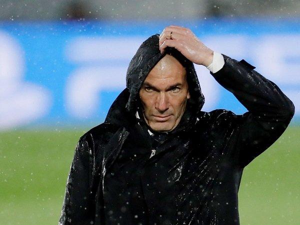 Real Madrid harus fokus melakoni empat partai final di La Liga, menurut Zinedine Zidane.