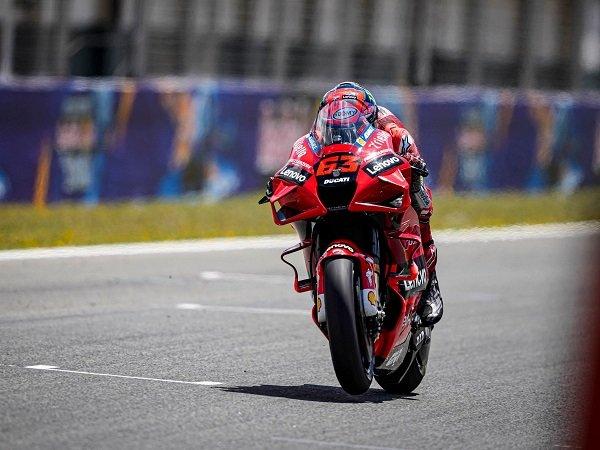 Ducati berharap Francesco Bagnaia bisa segera pecah telur.