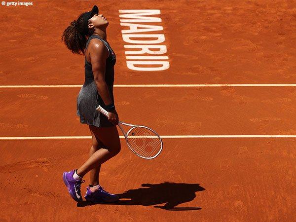 Naomi Osaka akan berusaha sekuat tenaga untuk menaklukkan clay-court