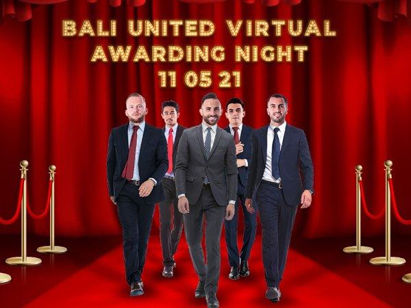 Bali United Virtual Awarding Night
