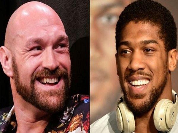 Eddie Hearn bocorkan tempat pertarungan Anthony Joshua bakal melawan Tyson Fury.