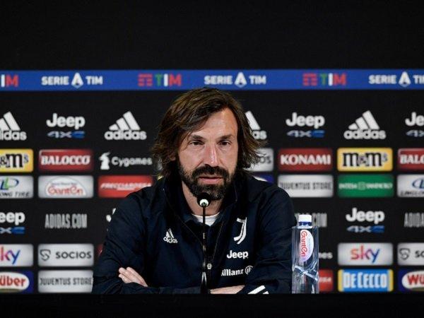 Andrea Pirlo masih yakin Juventus bisa tembus zona Liga Champions.