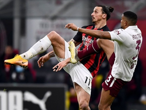 AC Milan hadapi Torino dalam laga berikutnya di Serie A.