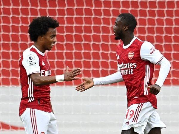 Willian dan Nicolas Pepe dituntut lebih konsisten di Arsenal