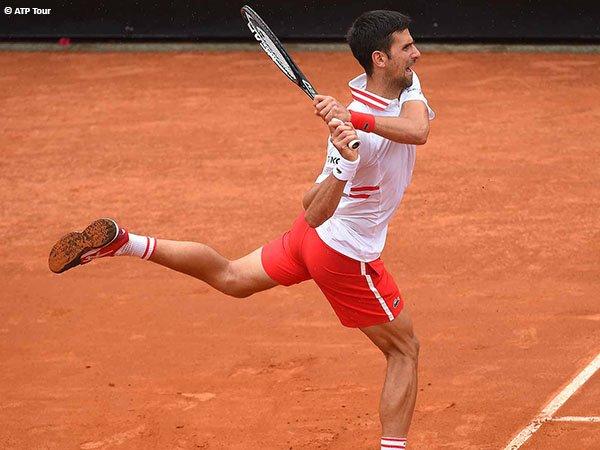 Novak Djokovic meluncur ke babak ketiga Italian Open 2021