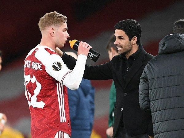 Mikel Arteta optimis dengan skuat muda Arsenal