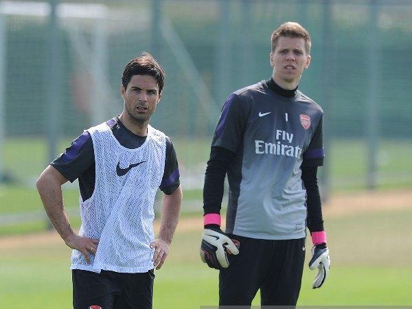 Mikel Arteta bahas kepulangan Wojciech Szczesny ke Arsenal