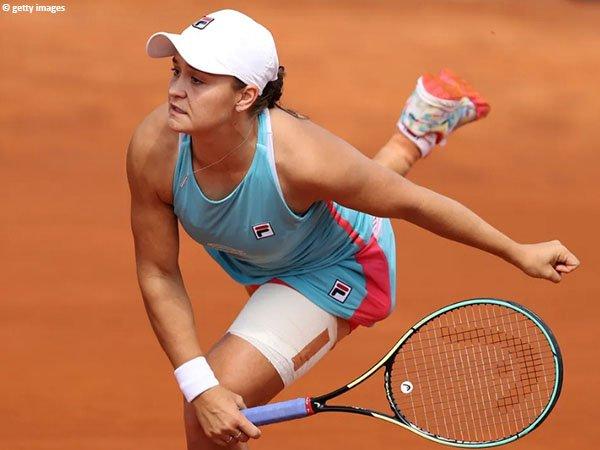 Ashleigh Barty melenggang ke babak ketiga Italian Open 2021