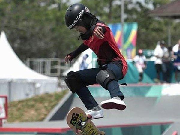 Atlet skateboard Indonesia, Nyimas Bunga Cinta
