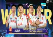 Jika Konsisten dan Main Sabar Aura Esports Bisa Finis Top 3 di SEA Finals
