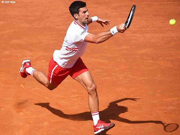 Novak Djokovic melenggang ke perempatfinal Italian Open 2021