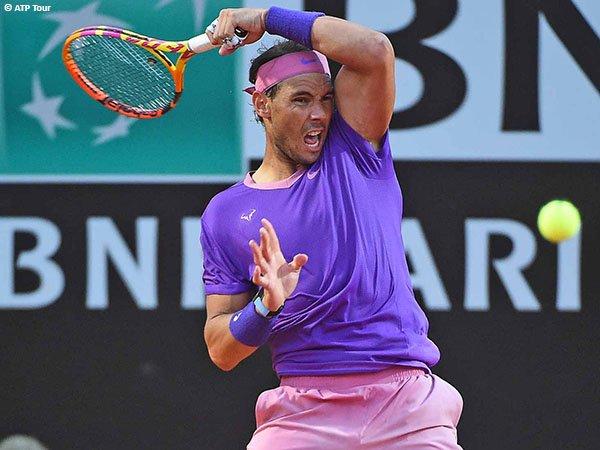 Rafael Nadal melenggang ke babak ketiga Italian Open 2021