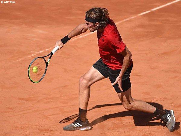 Stefanos Tsitsipas melaju ke babak ketiga Italian Open 2021