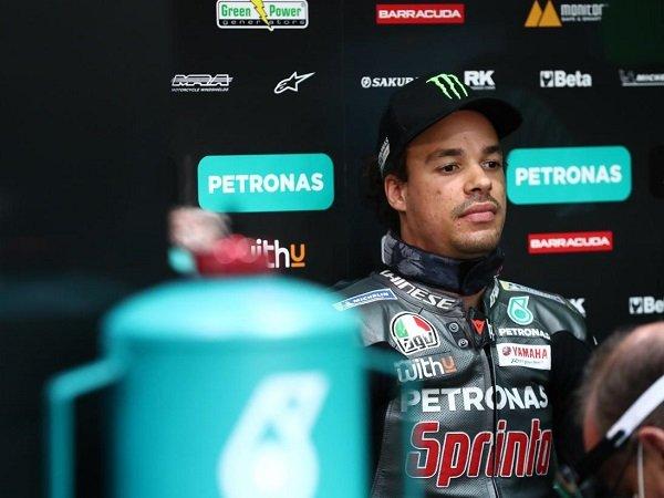Franco Morbidelli tetap merendah usai naik podium perdana di GP Spanyol.