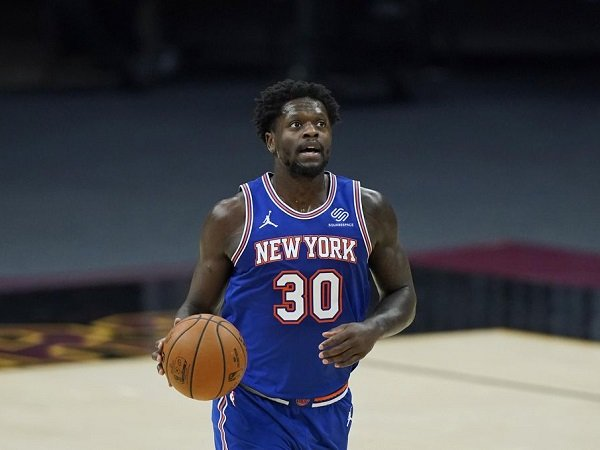 Julius Randle tak punya niatan tinggalkan New York Knicks.