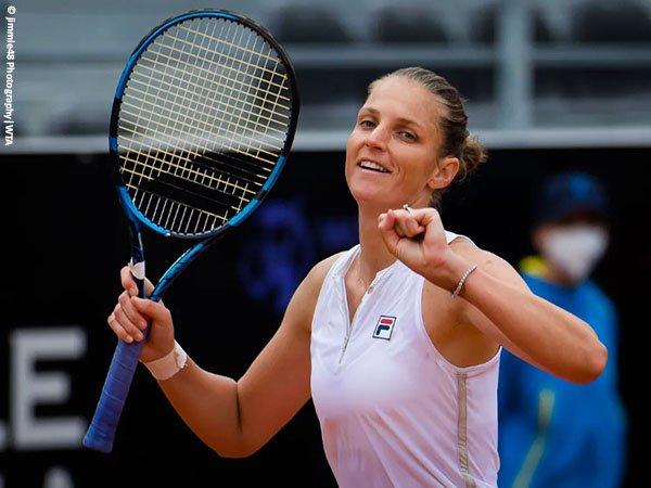 Karolina Pliskova terpaut satu kemenangan lagi demi kembali ke final Italian Open untuk kali ketiga secara beruntun
