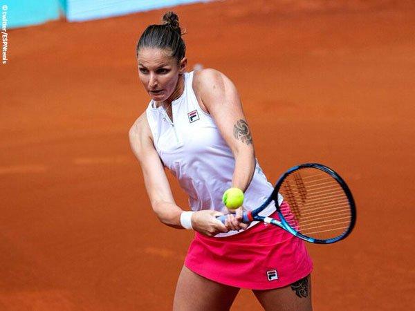 Karolina Pliskova susah payah demi lolos ke perempatfinal Italian Open 2021