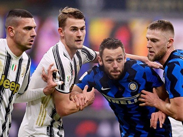 Juventus jamu Inter Milan dalam laga lanjutan Serie A.