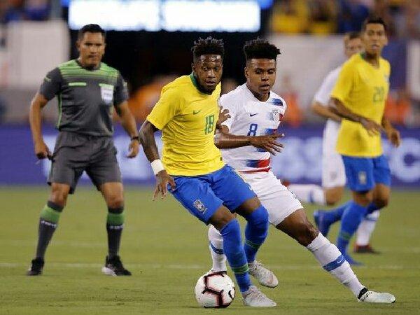 Gelandang MU, Fred, kembali dipanggil oleh timnas Brasil